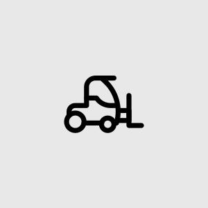Nakládka/vykládka pomocí vysokozdvižného vozíku Moffet